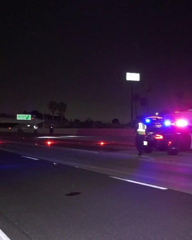 Bicyclist Fatality on Pomona Freeway
