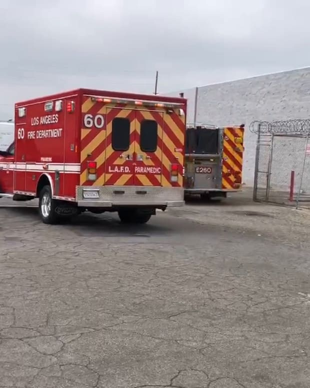 Male Trapped Under Granite Extricated by Firefighters