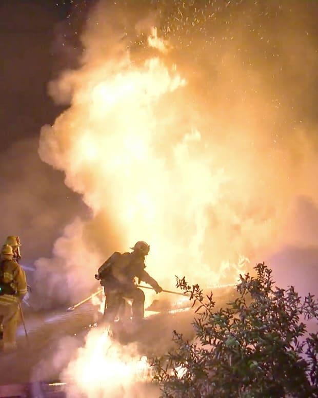 Hyde Park Fire