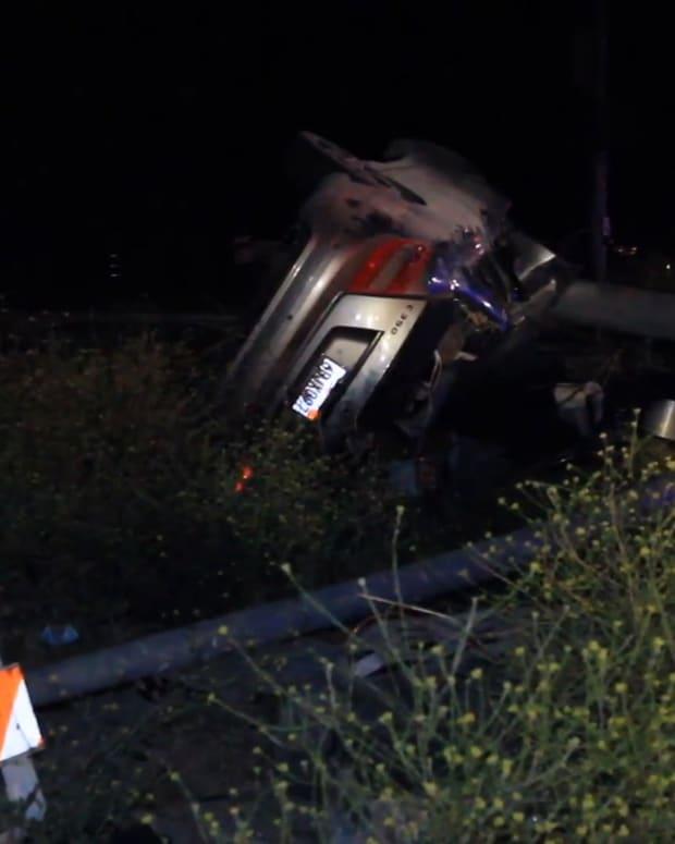 Canyon Country Pursuit Crash