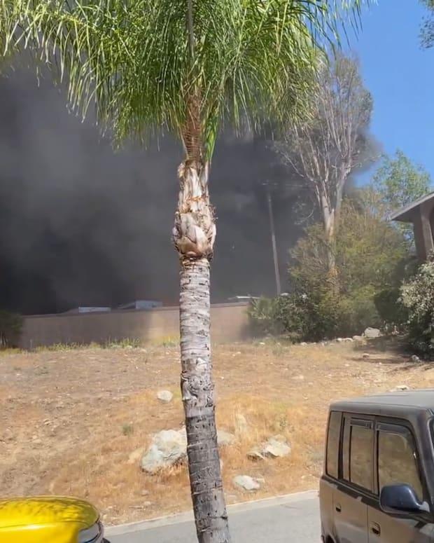 Canyon Lake Storage Facility Fire