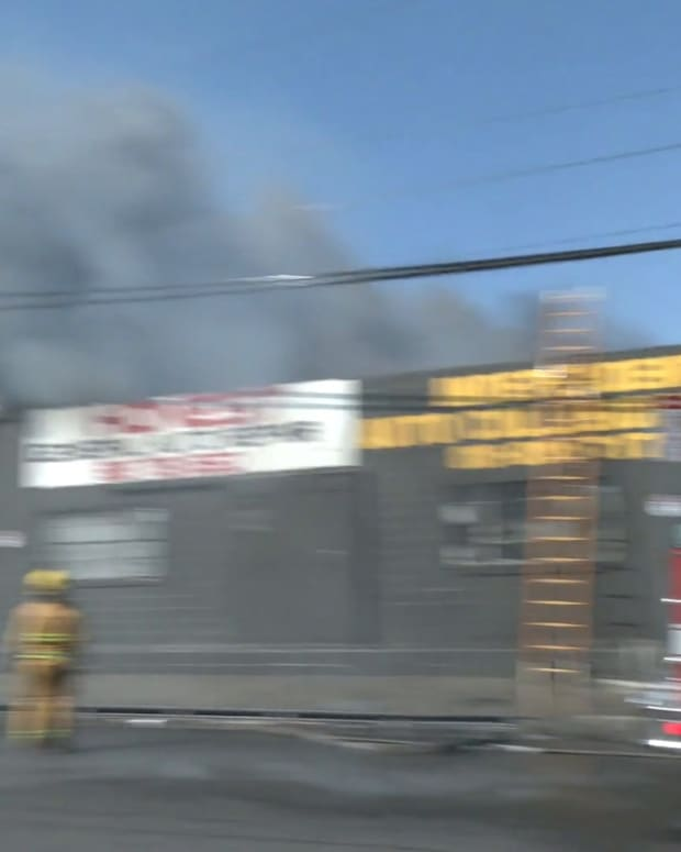 Pacoima Structure Fire