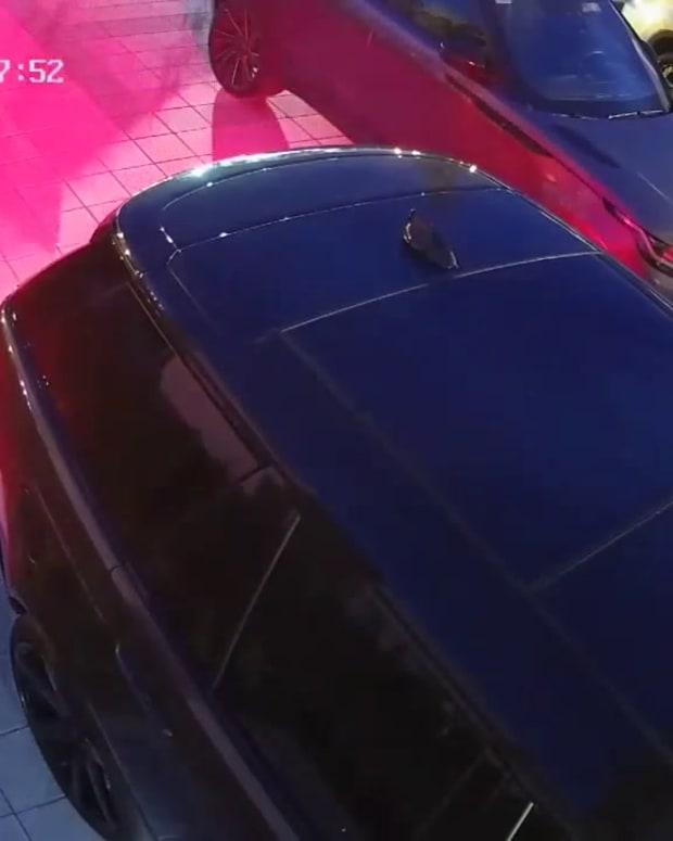 VIDEO SHOOTING AMBUSH OF CELEBRITY AUTO DESIGNER ALEX VEGA