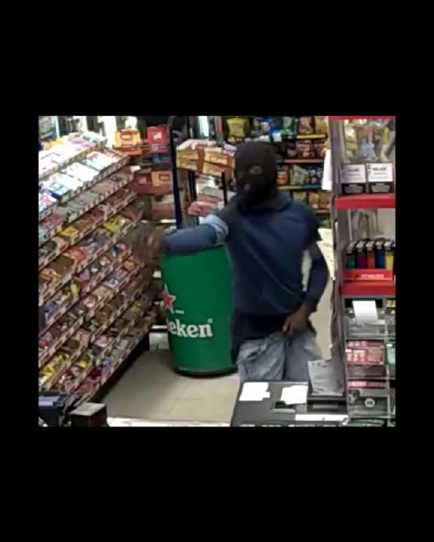 VIDEO SHOWS MURDER OF GAS STATION CLERK DURING ROBBERY