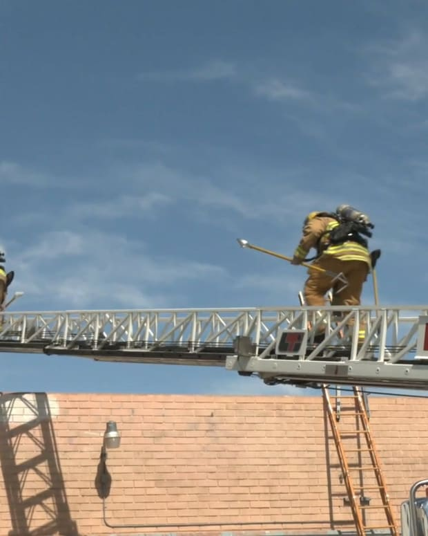 Structure Fire in North Hollywood