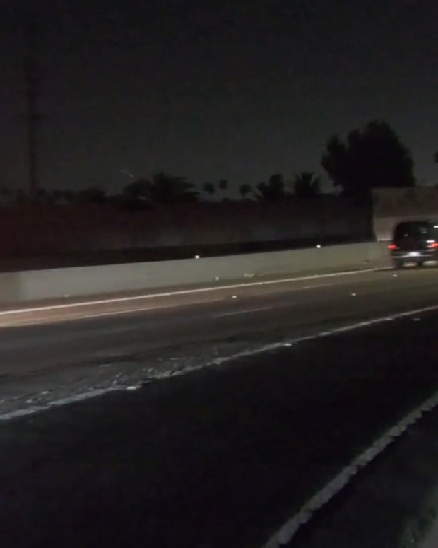 Newhall to Santa Fe Springs and Back CHP Pursuit