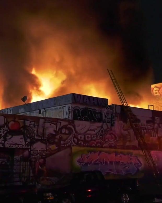 DTLA Commercial Structure Fire