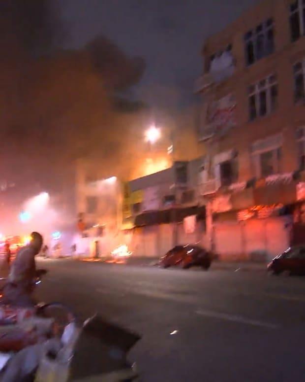 Major Emergency Structure Fire DTLA
