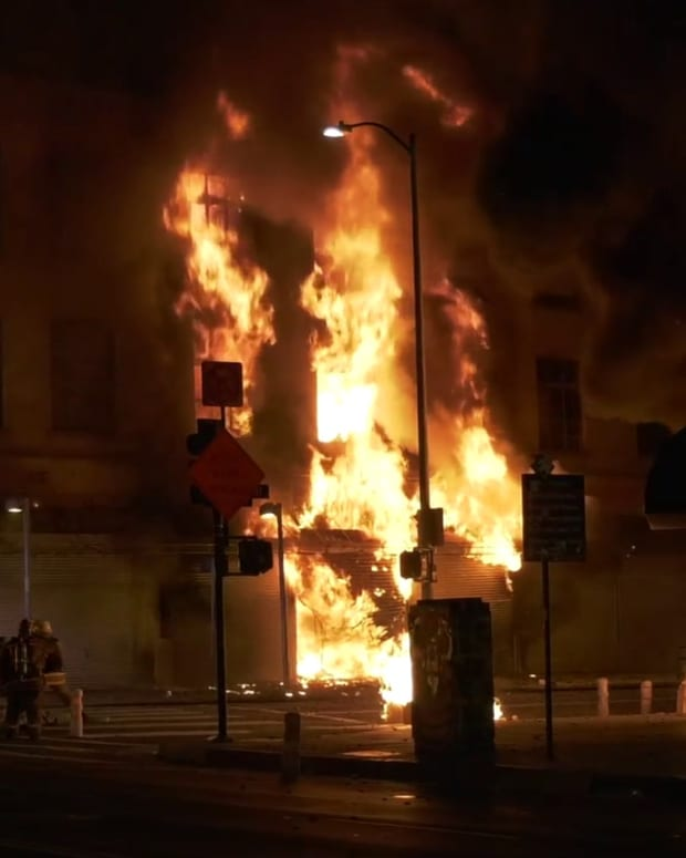 Major Emergency Structure Fire DTLA Part 2