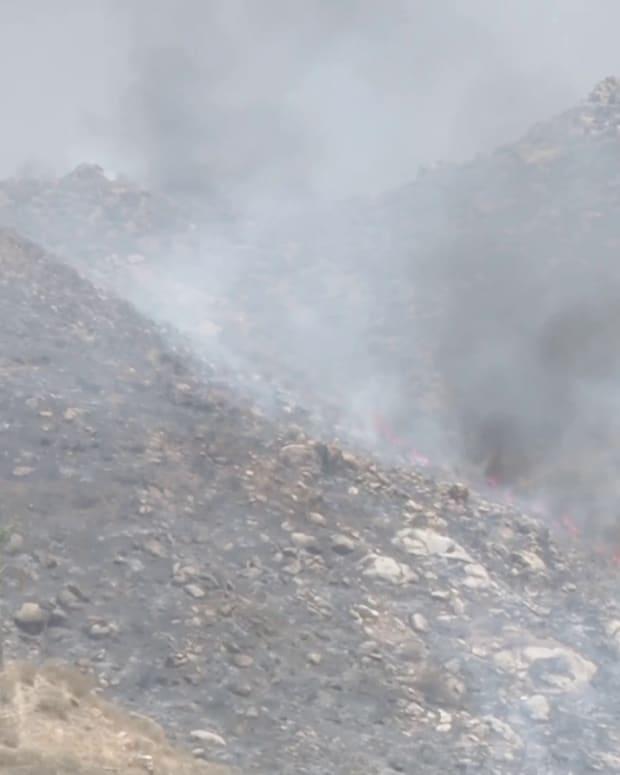 Vegetation Fire in Hemet