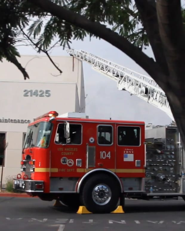 William Hart District Building Fire
