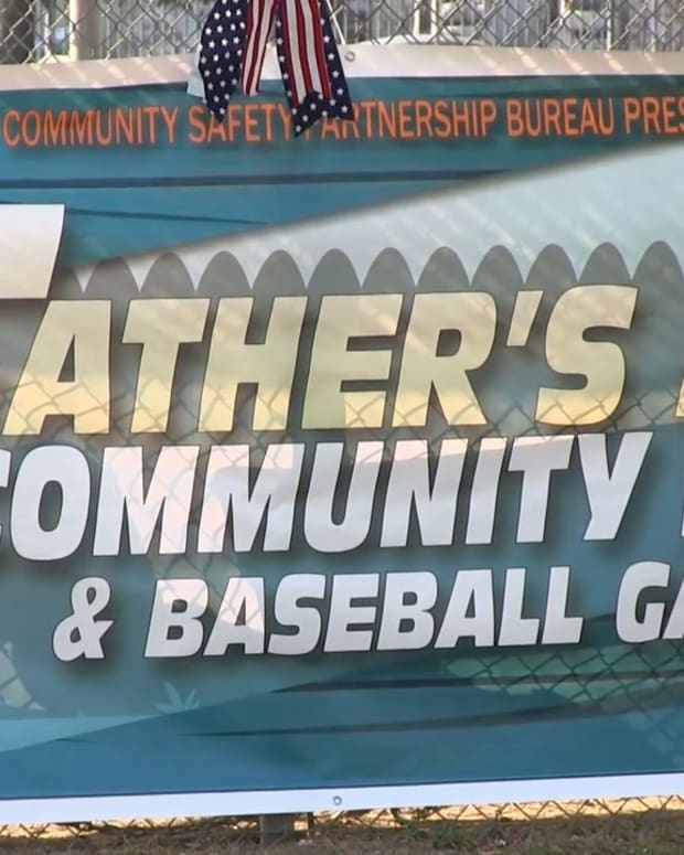 LAPD Father's Day Community Event in Pacoima