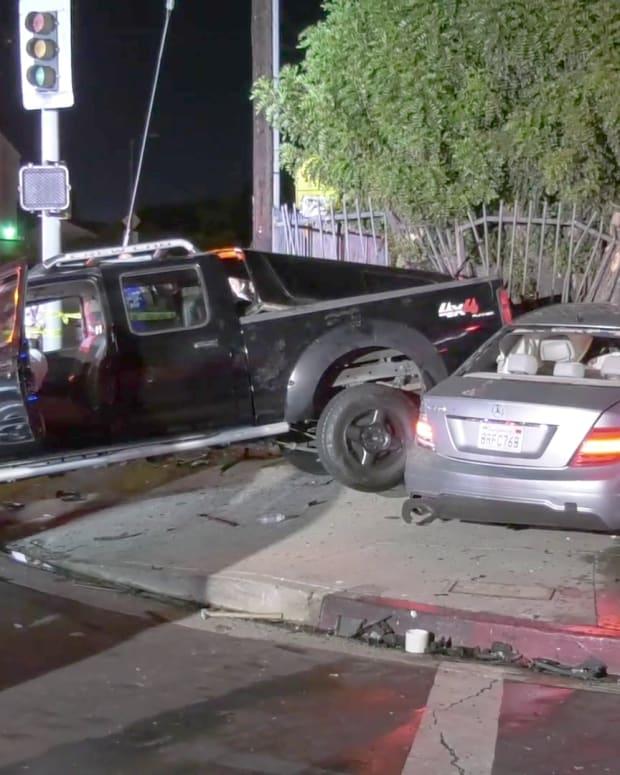 Van Nuys Two-Vehicle Collision on Haskell