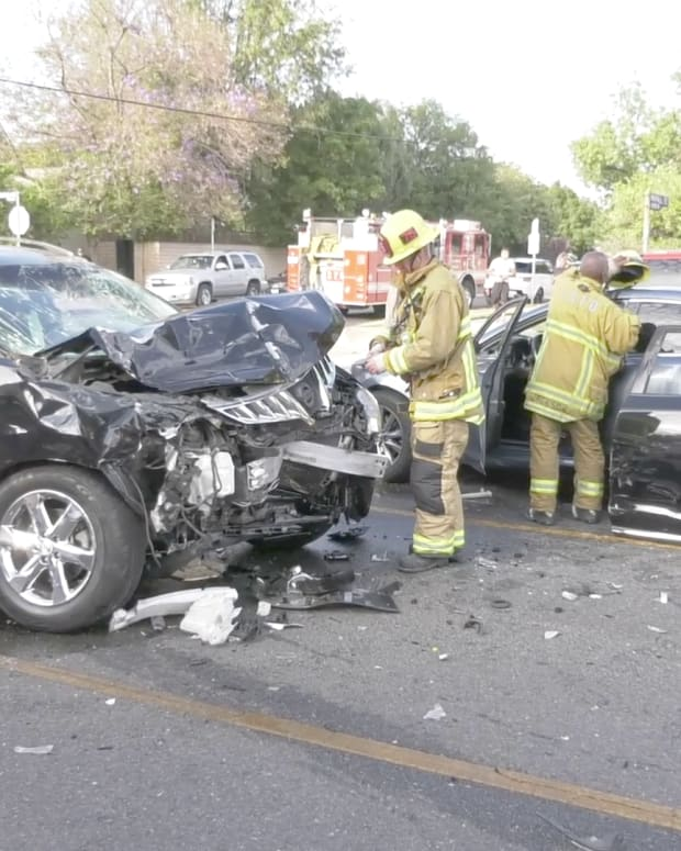 North Hills Two-Vehicle Collision