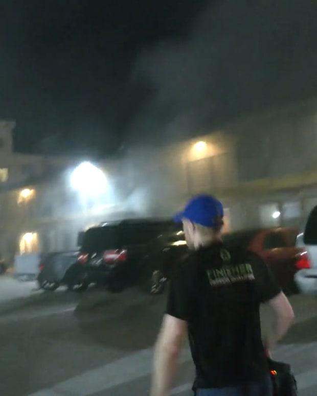 Sylmar Hotel Fire