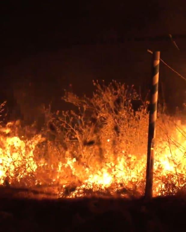 Shell Fire in Kern County
