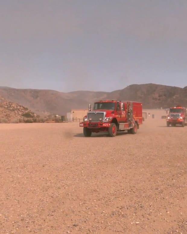 Gorman Tumbleweed Fire Part 2
