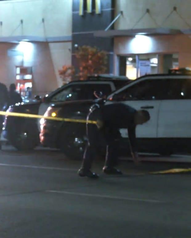 LAPD Vehicle Collision Ends Police Pursuit