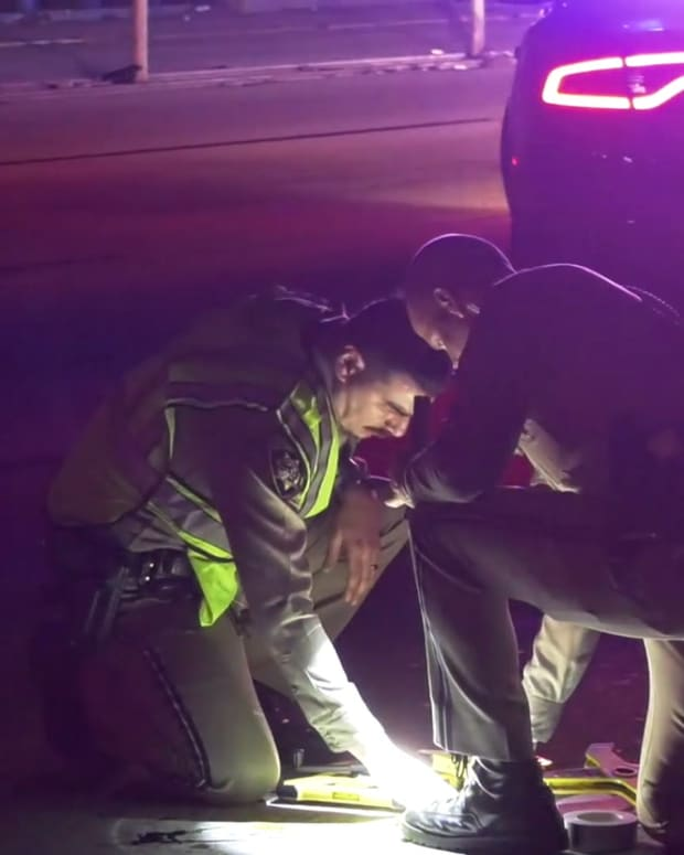 Pedestrian Killed Crossing Harbor Freeway