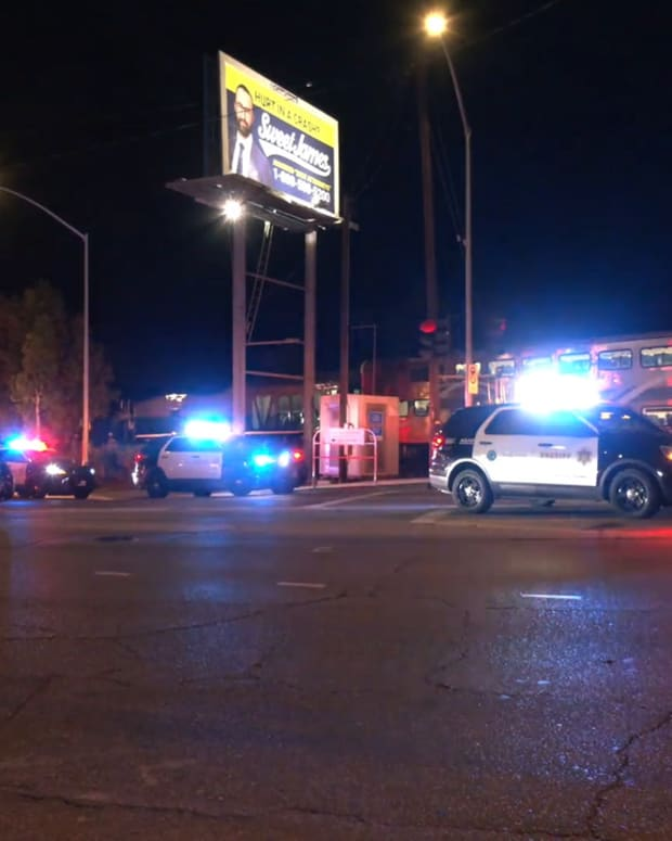 Train Hits Vehicle of Suspected DUI Driver in Santa Clarita