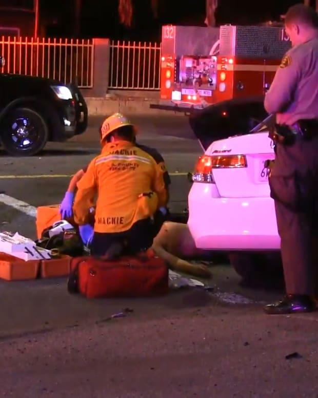 Two-Vehicle Santa Clarita Traffic Collision Injures Two People