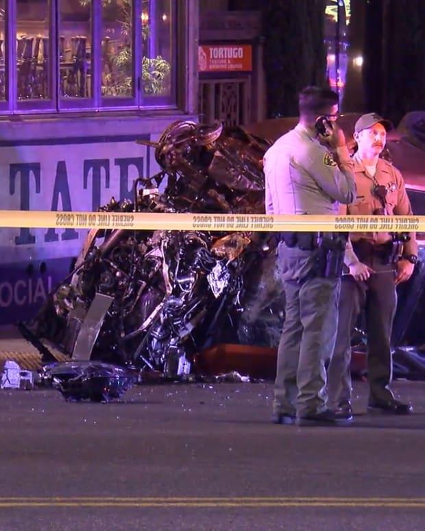 West Hollywood High-Speed Crash