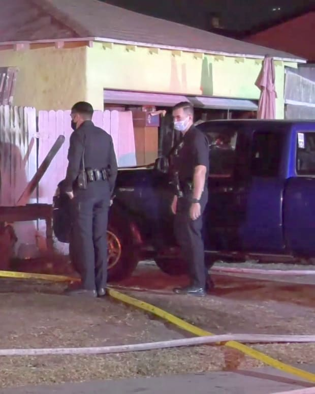 Man in Tent Found Dead at House Fire