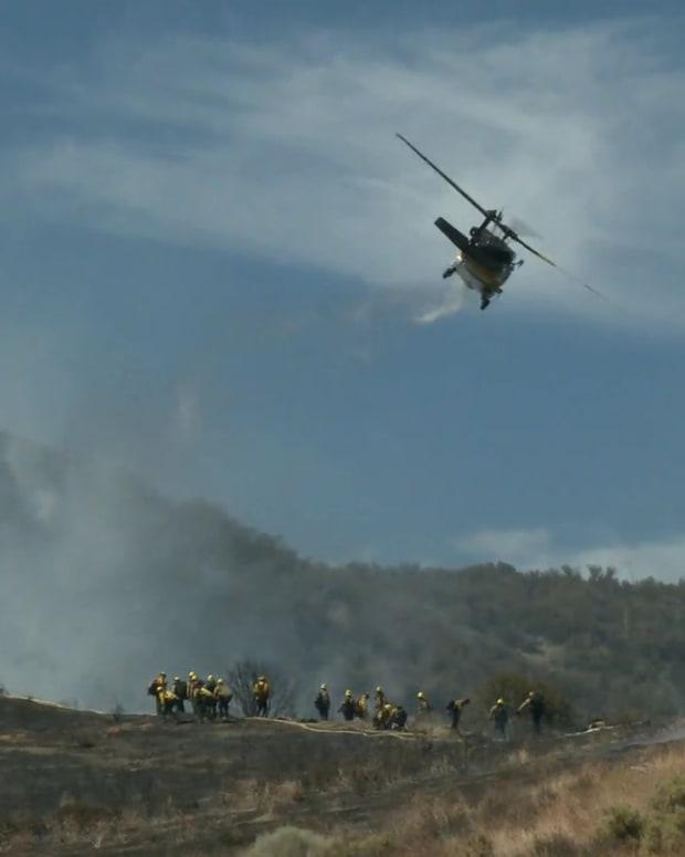 Gorman Brush Fires