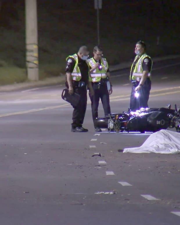 Fatal Motorcyle Crash in Sawtelle