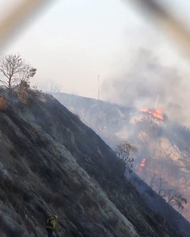 Princessa Fire in Santa Clarita