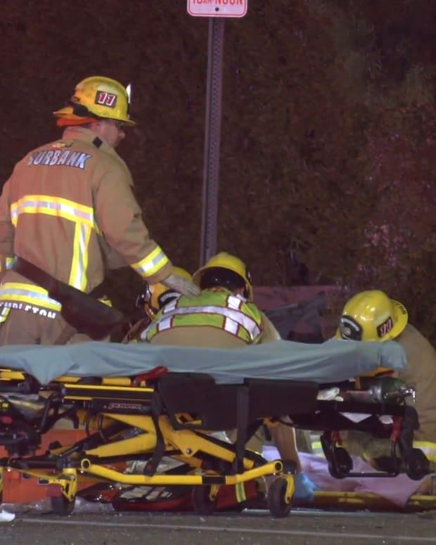 Burbank Fatal 2-Vehicle Collision