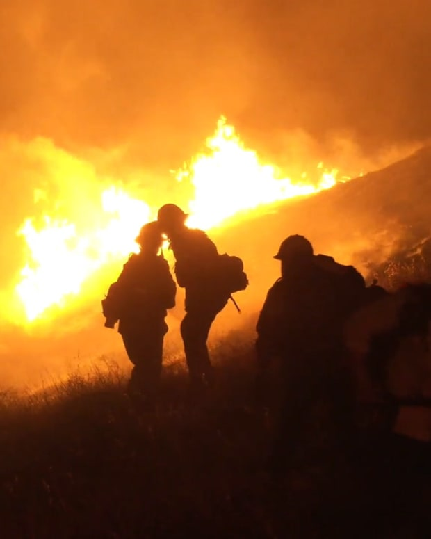 Simi Valley Brush Fire