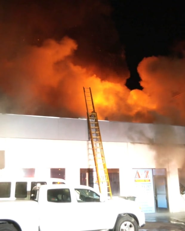 Panorama City Commercial Structure Fire
