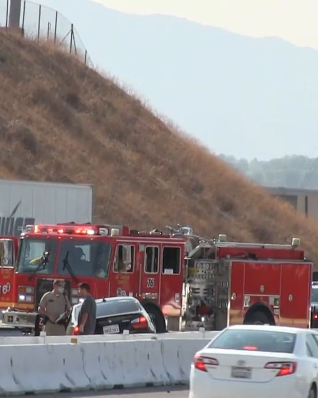 5 Freeway Collision in Hasley Canyon