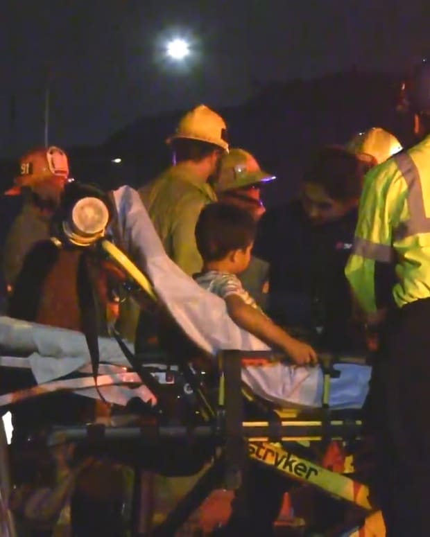 Santa Clarita Collision on 5 Freeway with Injuries, 1 Person Ejected