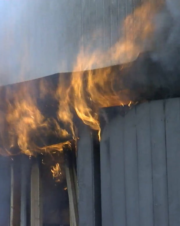 Studio City Garage Fire