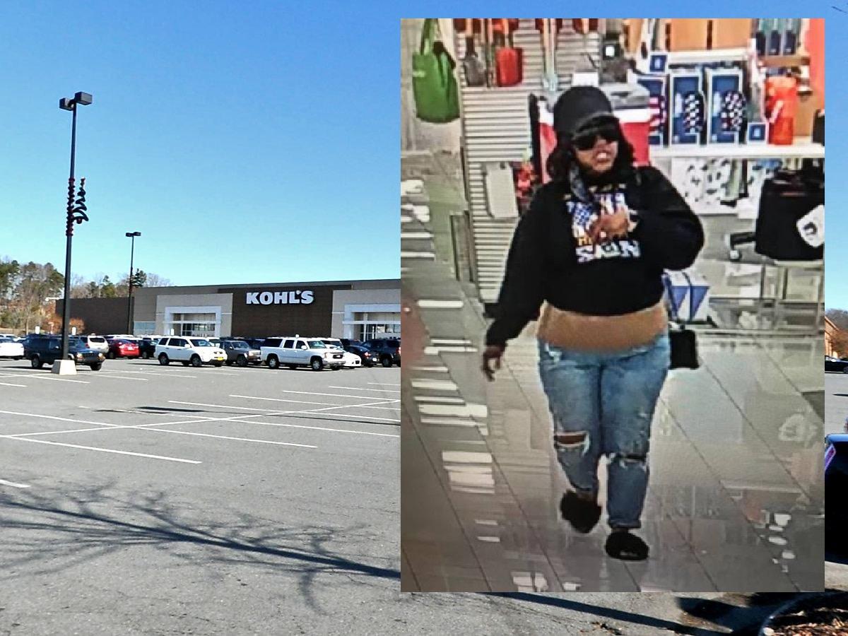 Suspect in gun threat at Kohl's (Kohl's surveillance photo)