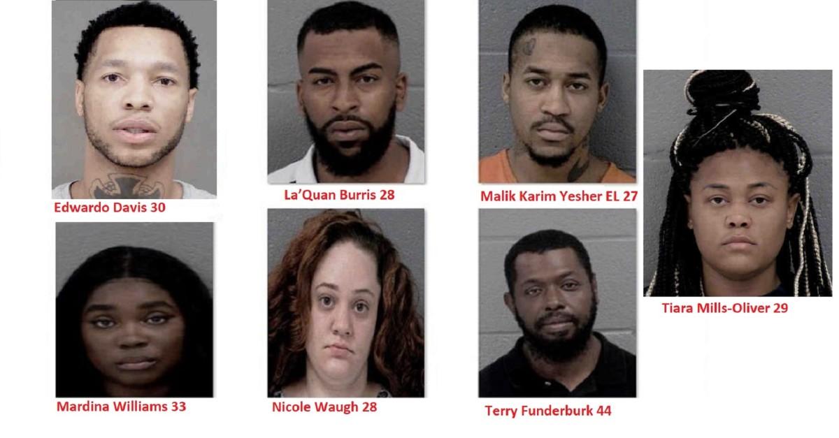 Arrested suspects in drug investigation