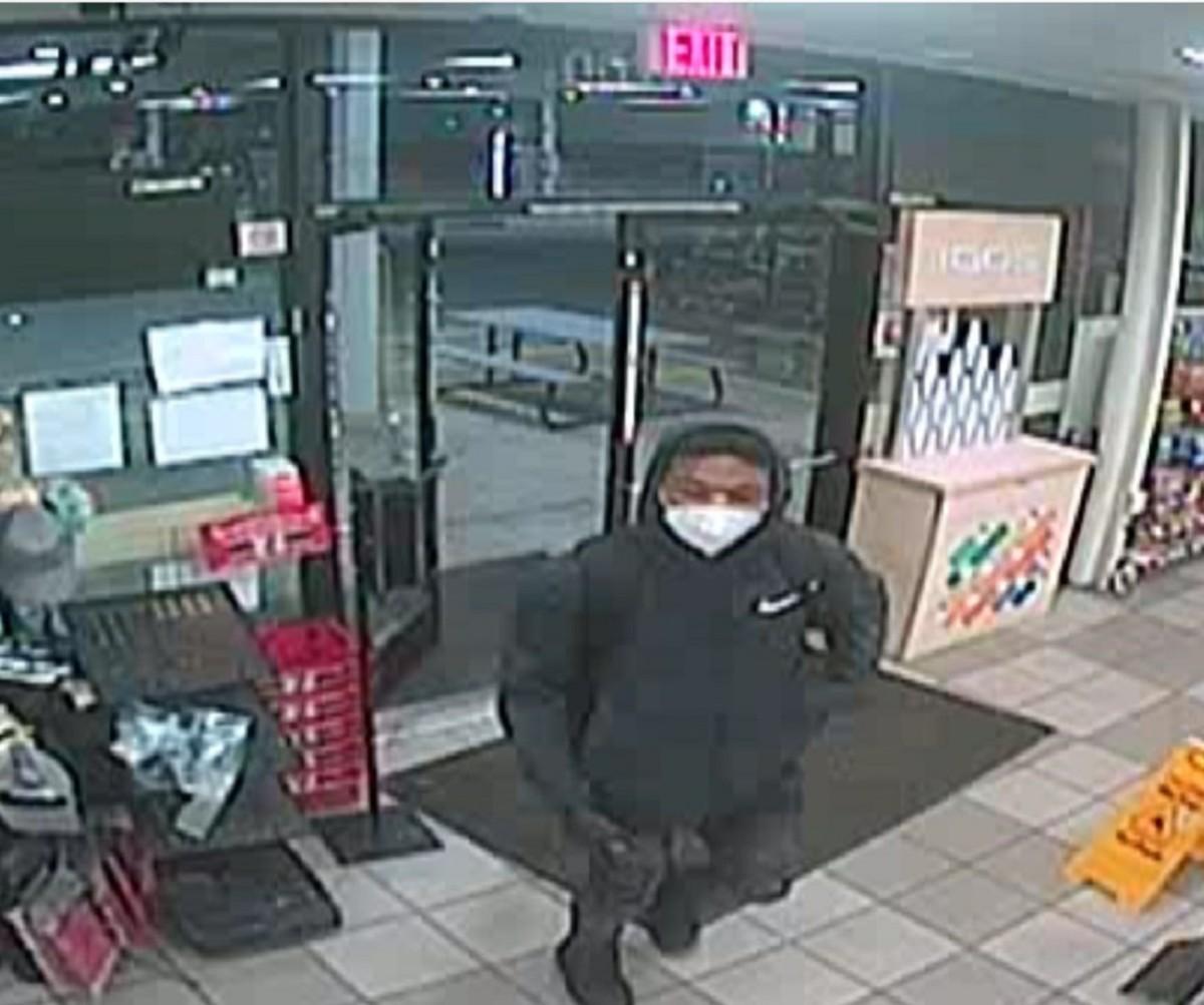 7Eleven Exxon gas station robbery suspect