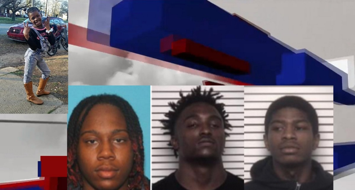 TOP: Ah'miyahh Howell BOTTOM:Nasir Turner, Donnell Ellison, and Sayqwon Miller
